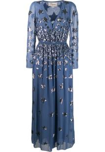 Temperley London Starlet Jumpsuit - Azul