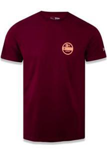Camiseta New Era Branded - Masculino-Vinho