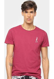 Camiseta Derek Ho Caveira Masculina - Masculino-Rosa Escuro