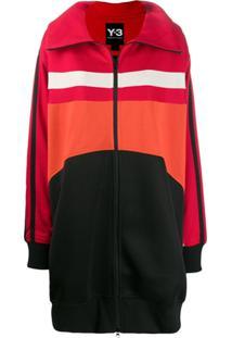 Y-3 Colour Contrast Logo Jacket - Preto
