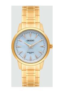 Relógio Feminino Strass Orient Fgss0100 B1Kx