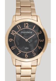 Relógio Analógico Mondaine Feminino - 53638Lpmvre1 Rosê - Único