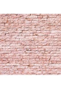 Papel De Parede Adesivo Pedra Canjiquinha Rosa (2,50M X 0,60M)