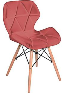 Cadeira Geo- Vermelha- 74,5X50X44,5Cm- Falkkfalkk