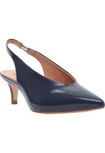 Sapato Chanel - Azul Marinho - Salto: 5,5Cmcecconello