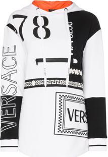 Versace Moletom Com Logo - Branco
