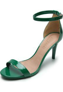 Sandália Fiveblu Salto Fino Verde