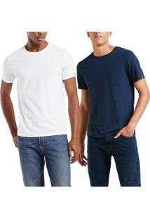 Camiseta Levis 2 Pack Crew (2 Peças) - Xl