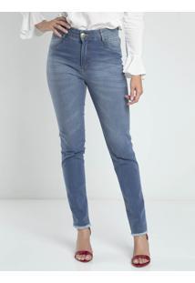 7d3c1d972 ... Calça Jeans Skinny Feminina Dyjoris