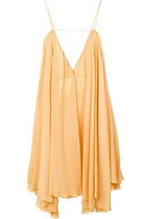 Jacquemus Vestido La Petite Robe Belleza - Laranja