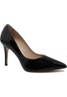 Scarpin Zariff Shoes Salto Fino - Feminino-Preto