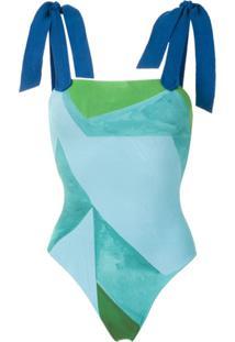 Clube Bossa Maiô Lavello Estampado - Azul