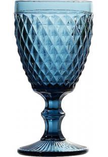 Conj De Taças De Água Azul 6 Peças - Tricae