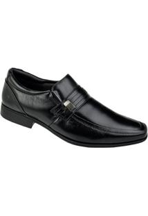 Sapato Social Couro Pipper Duke Masculino - Masculino-Preto