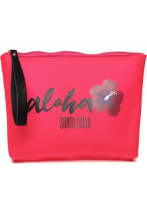 Clutch Santa Lolla Aloha Rosa