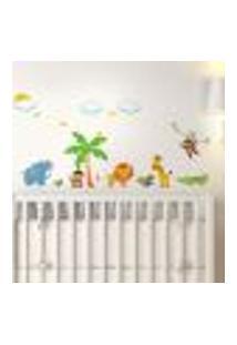 Adesivo De Parede Infantil Safári Mod. 2 - Pequeno