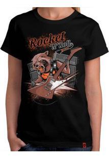 Camiseta Rock Das Galáxias