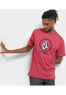 Camiseta Volcom Silk Crisp Stone Masculina - Masculino