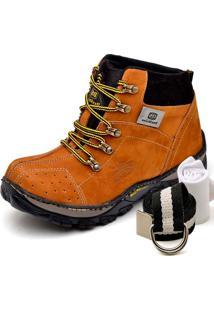 Bota Dexshoes Kit Adventure Caramelo