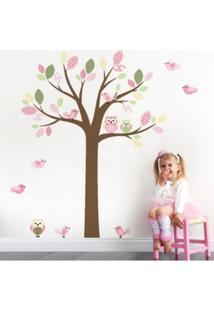 Adesivo De Parede Balihai Stickers 160X123 Belle Rosa Claro