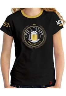 Camiseta Moe'S - Feminina