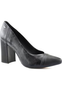 Sapato Scarpin Feminino Croco Dakota Salto Alto G1092