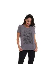 Camiseta Jay Jay Basica Over The Montains Chumbo Dtg