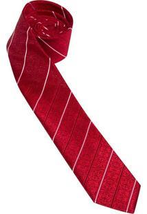 Gravata Slim Vermelha