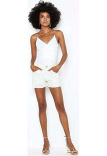 Body Com Corrente Off White Bod22553 Branco