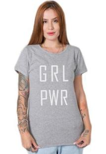 Camiseta Stoned Girl Power Feminina - Feminino