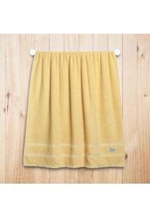 Toalha Banho Altenburg Sensitive 100% Algodão Dusty Amarelo - 70Cm X 1,40M Amarelo