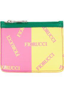 Fiorucci Porta-Moedas Com Brilho - Rosa