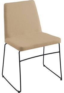 Cadeira Paris Linho Bege
