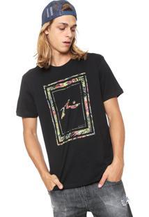 Camiseta Rusty Garden Preta