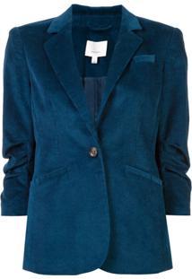 Cinq A Sept Corduroy Blazer - Azul