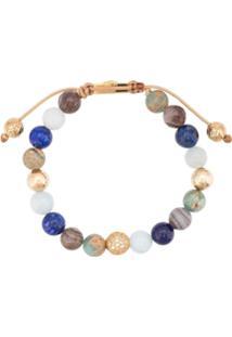 Nialaya Jewelry Faceted Stone Bracelet - Azul