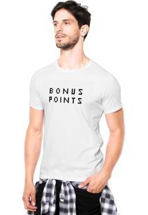 Camiseta Rgx Bonus Points Branca