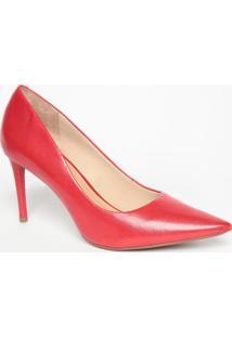 Scarpin Liso- Vermelho- Salto: 8,5Cmmya Haas