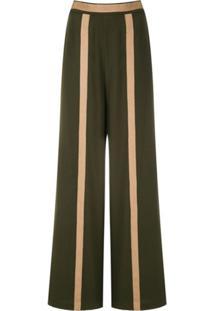 Lethicia Bronstein Calça Elis Pantalona - Verde