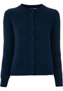 Egrey Cardigan De Lã - Azul