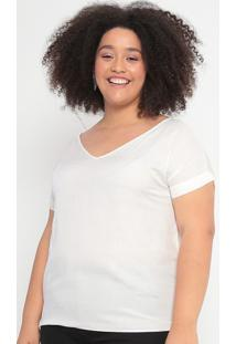 Blusa Lisa- Off White- Malweemalwee