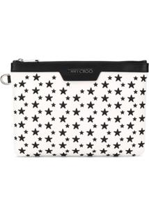 Jimmy Choo Derek Clutch - Branco