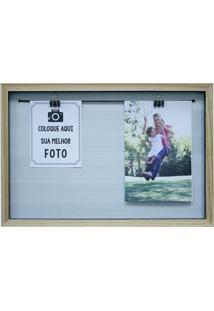 Porta-Retrato Para 2 Fotos Milão Varal I Colorido