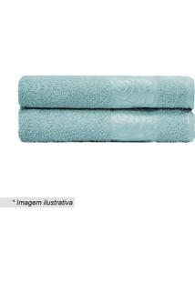 Toalha De Banho Donna- Azul Claro- 70X130Cm- Camcamesa