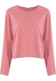 Osklen Blusa Rustic Cool Shape - Rosa