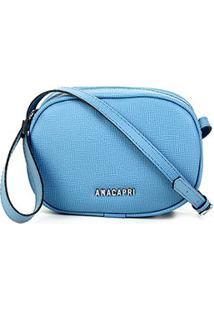 Bolsa Anacapri Mini Bag Pqn Bali Feminina - Feminino-Azul