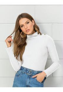 253c8ae9d Blusa Branca De Frio feminina | Shoelover