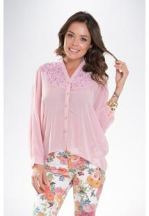 Camisa Mercatto Rosa