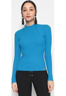Blusa Canelada- Azul Escuro- Miss E Missesmiss & Misses