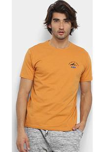 Camiseta Hd Climber Masculina - Masculino-Mostarda